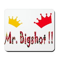 Mr. Bigshot Mousepad
