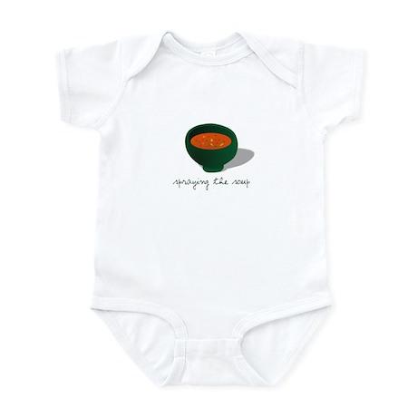 Spraying the Soup Infant Bodysuit