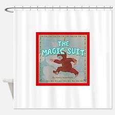 Magic Suit Cover Shower Curtain