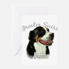 Swissy Mom2 Greeting Card
