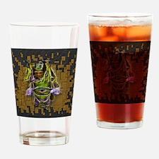 Unique Lila Drinking Glass