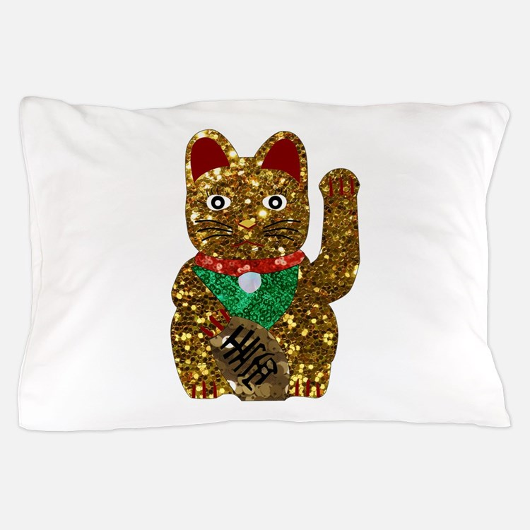 Cute Neko Pillow : Maneki Neko Bedding Maneki Neko Duvet Covers, Pillow Cases & More!