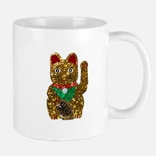 maneki neko cat Mugs