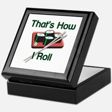 That's How I Roll (Sushi) Keepsake Box