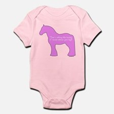 17 hands draft horses. Infant Bodysuit
