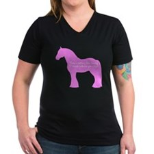 17 hands draft horses. Shirt