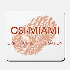 CSI:MIAMI Mousepad