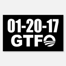 Obama's Last Day - GTFO Decal