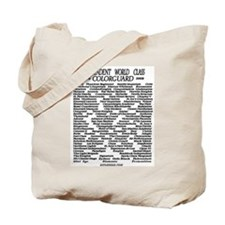 World Class History 1978-2009 Tote Bag