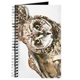 Hawaiian owl Journals & Spiral Notebooks