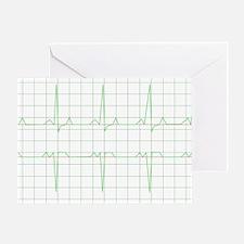 Unique Cardio Greeting Card
