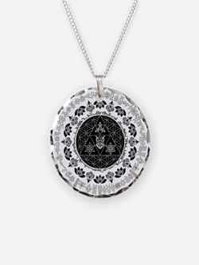 Reverse Everything Mandala Necklace