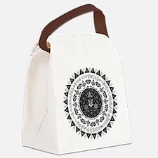Reverse Everything Mandala Canvas Lunch Bag