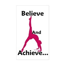 Gymnastics Sticker - Believe
