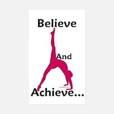 Gymnastics Sticker - Believe