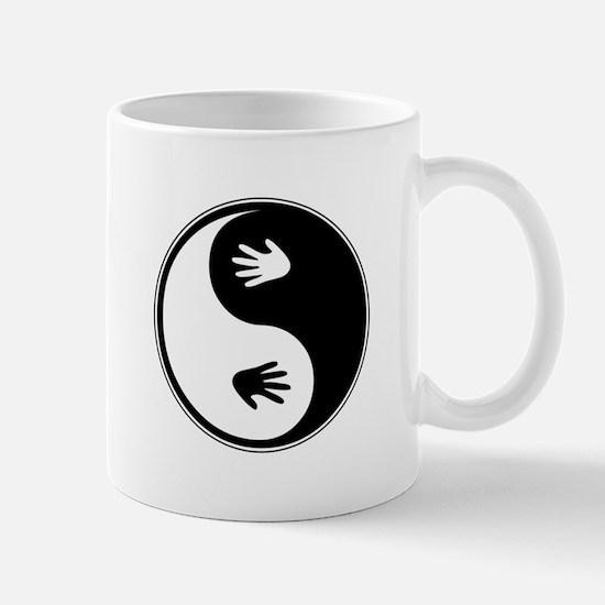 Yin Yang Hands Mug