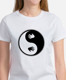 Yin Yang Hands Women's T-Shirt