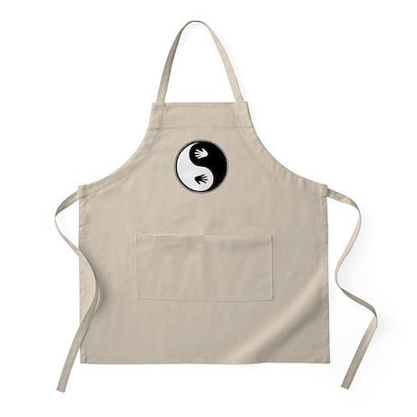 Yin Yang Hands BBQ Apron
