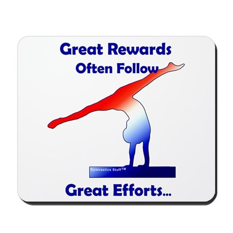 Gymnastics Mousepad - Rewards