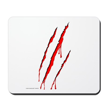 Clawed to Death Mousepad