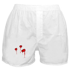 Shot To Death Boxer Shorts
