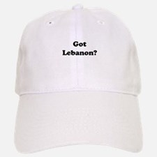 Got Lebanon Baseball Baseball Cap