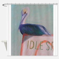 IDOL SPEED NO WAKE Shower Curtain