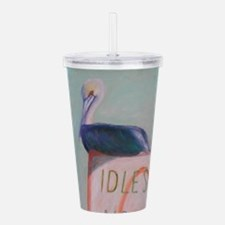 IDOL SPEED NO WAKE Acrylic Double-wall Tumbler