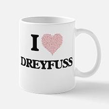 I Love Dreyfuss Mugs