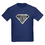 Baseball catcher Kids T-shirts (Dark)