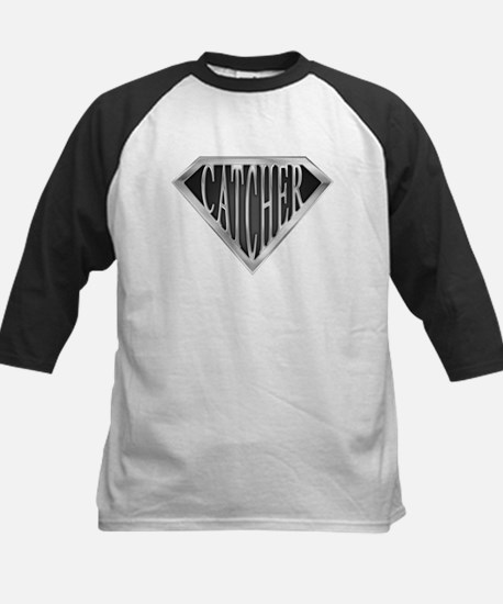 SuperCatcher(metal) Kids Baseball Jersey