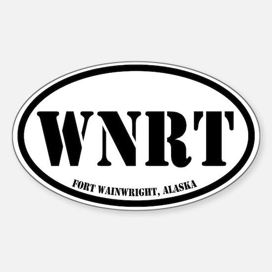Fort Wainwright, Alaska Sticker (Oval)