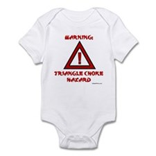 TRIANGLE CHOKE HAZARD Infant Bodysuit