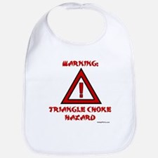 TRIANGLE CHOKE HAZARD Bib