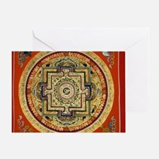 Mandalas Greeting Card