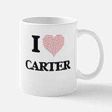 I Love Carter Mugs