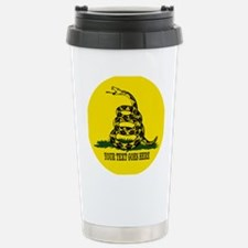 Dont Tread on Me Personalized Travel Mug