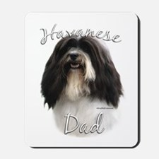 Havanese Dad2 Mousepad