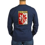 Firenze Long Sleeve T-shirts (Dark)