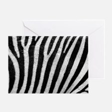 Cute Zebra fish Greeting Card