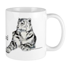 Snow Leopard Small Mug
