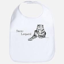 Snow Leopard Bib