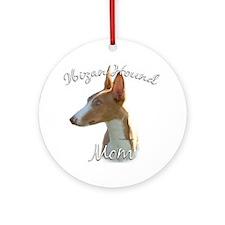 Ibizan Mom2 Ornament (Round)