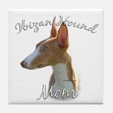 Ibizan Mom2 Tile Coaster