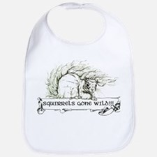 Squirrels Gone Wild Bib