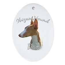 Ibizan Dad2 Oval Ornament