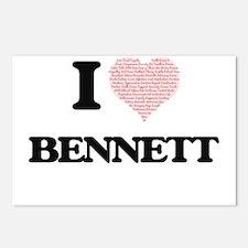 I Love Bennett Postcards (Package of 8)