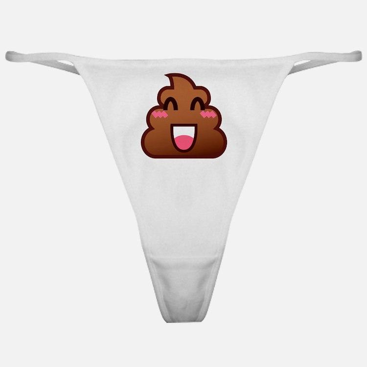 Cute Pink brown Classic Thong