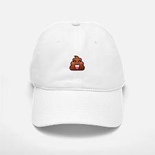 kawaii poop emoji Baseball Baseball Cap
