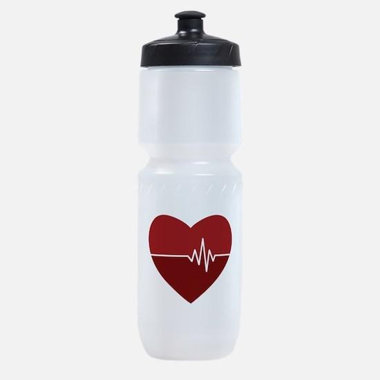 Heartbeat Sports Bottle